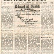 Artikel in der Thüringer Allgemeine um 1998 – Teil 1