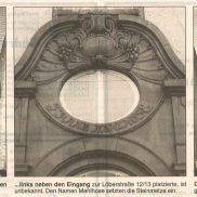 Artikel in der Thüringer Allgemeine um 1998 – Teil 2